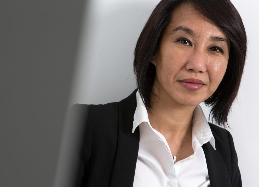 Portrait de femme dirigeante pour sa communication